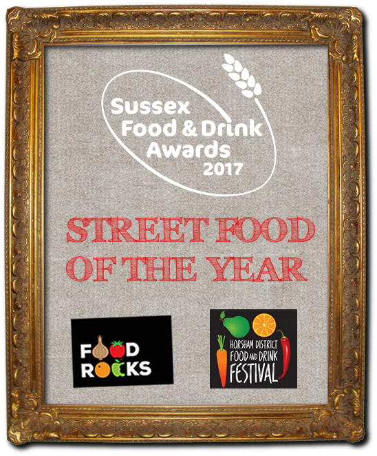 Sussex Street Food of the Year with Food Rocks