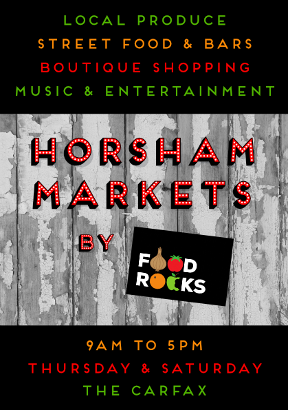 Horsham Markets by Food Rocks