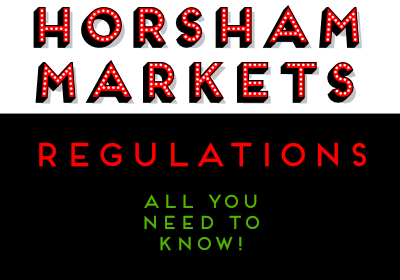 Horsham Markets regulations